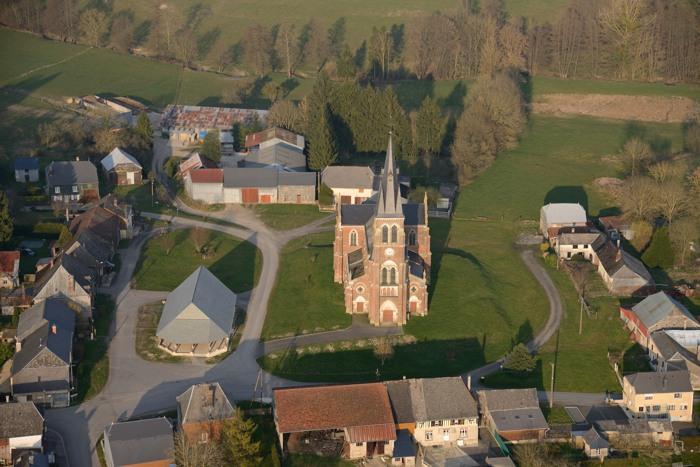 jmbenoit fr Photographies aériennes du département des Ardennesà partir d'un Paramoteur  # Saint Jean Au Bois